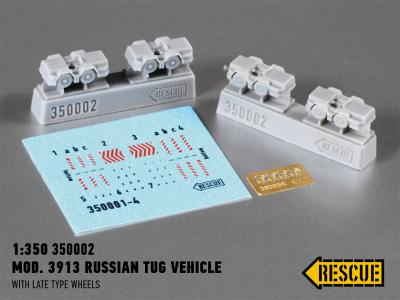 Mod. 3913 Russian tug vehicle (with late type wheels)