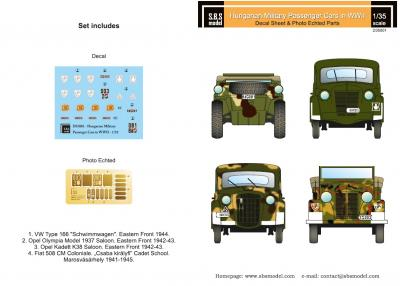 Hungarian military passenger cars (WWII)