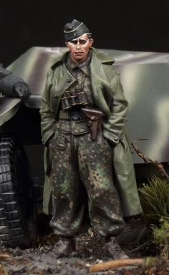 SS Panzer Recon Officer #2