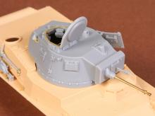 Toldi I (B20) corrected turret (with metal barrel) for Hobbyboss kit