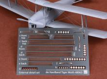 De Havilland DH-82 Tiger Moth rigging wire set for Airfix
