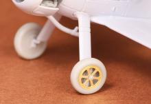 Gloster Gladiator wheels (spoked) for Airfix kit