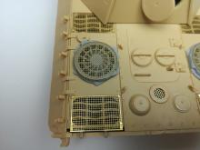 Sd.Kfz. 171 Panther D early fan cover with grilles - 1.