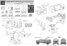 Kfz.385 Opel Blitz T-Soff conversion set for Italeri kit - 3.