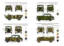 Hungarian military passenger cars (WWII) - 1.